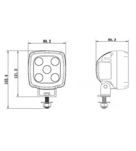 PAR30 LED 43W | Reemplazo Haluro 70W