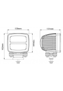 Strobe Led 4W Multivoltaje 2Km de alcance (calidad minera)
