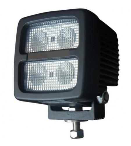 Foco Faenero LED Heavy Duty 40W 9-80Vcc Multi-Volt 3.000Lm RAW conector DT2