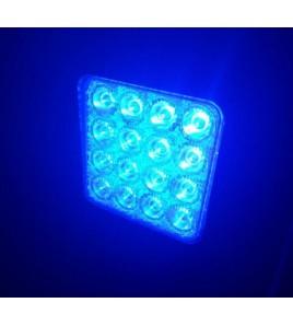 Foco LED azul para uso agricola o avicola maquinaria de riego pivotes