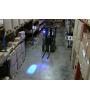 Foco LED Blue Point 25W 9-60Vcc Multi-Volt con Deutsch Conector DT2 azul safety light gruas horquillas