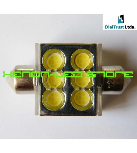 Festoon 6 LED HighP3 36mm