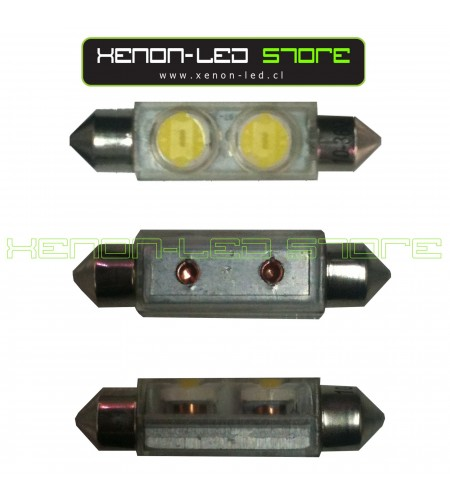 Festoon 2 LED SuperChip 2W 42 mm