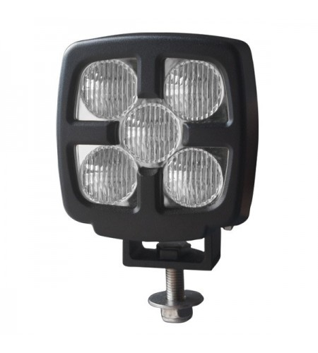 Foco de trabajo LED Heavy Duty 25W 9-80V Multivolt 2.100Lm RAW conector DT2