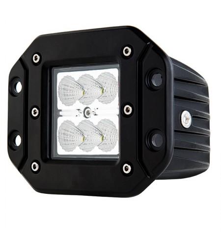 Foco LED empotrado 18W 9-32Vcc 1.440 Lm RAW conector Deutsch DT2