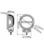 Foco faenero Heavy Duty 120W 9-32Vdc 10.750 Lm RAW DT2